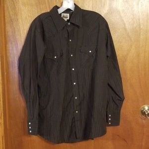 Ely Cattleman mens XL button down